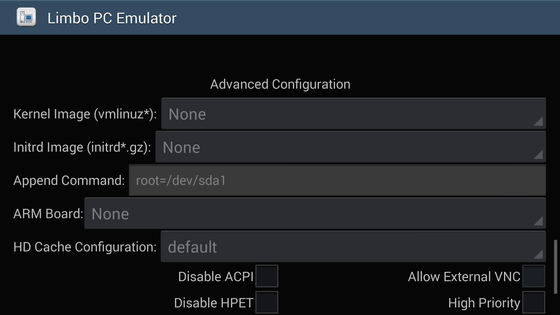 limbo pc emulator apk mod
